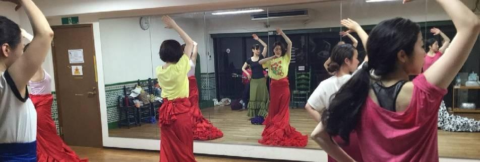湘南・恵比寿を中心に活動するフラメンコダンサー田中菜穂子のフラメンコ教室 LA VIDA(ラ ヴィーダ)